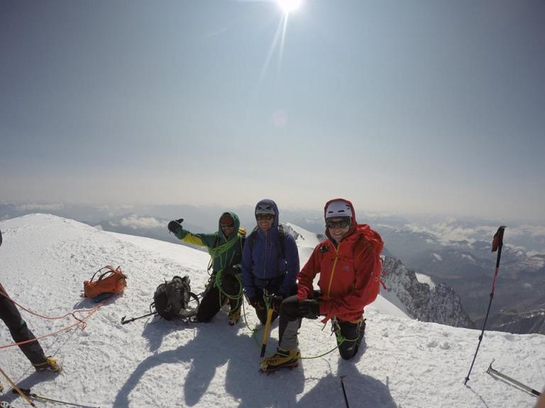 Summit Mont Blanc 2018